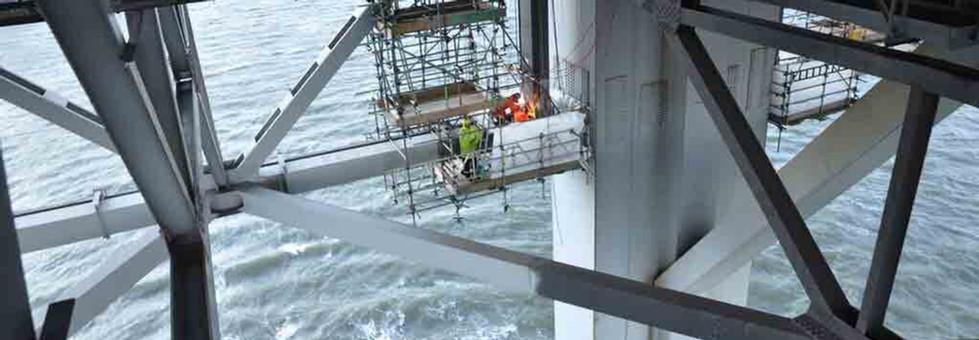 Forth-road-bridge-End-Link-repair