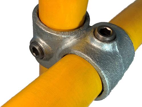 Offset 90 Deg Crossover (161) galvanised clamp