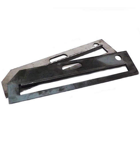 Pairs of Stair Tread End Plate Only - Stair Treads 275mm wide