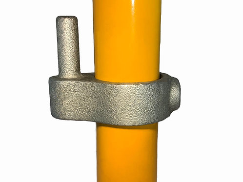 Gate Hinge (140) galvanised clamp