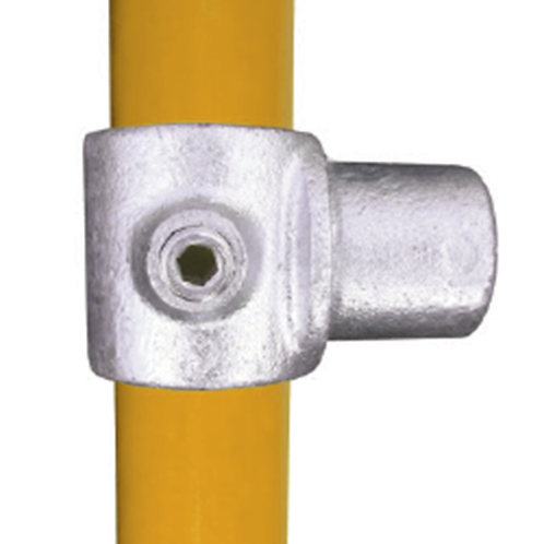Offset Swivel tube clamp and yellow tube