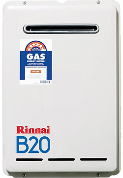 Rinnai Continuous Gas Hot Water System