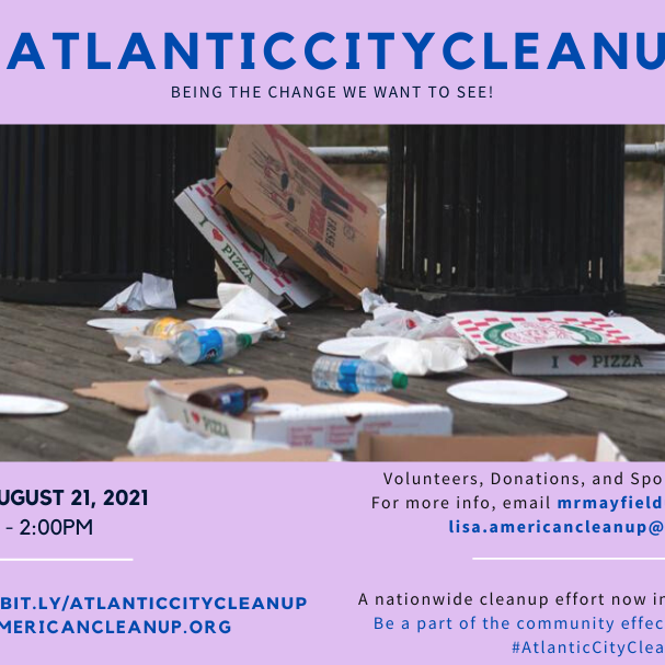 #AmericanCleanup Presents: #AtlanticCityCleanup