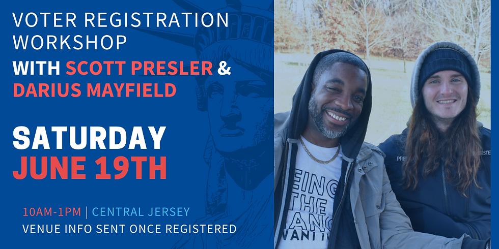 Voter Registration with Scott Presler - 4PM-7PM