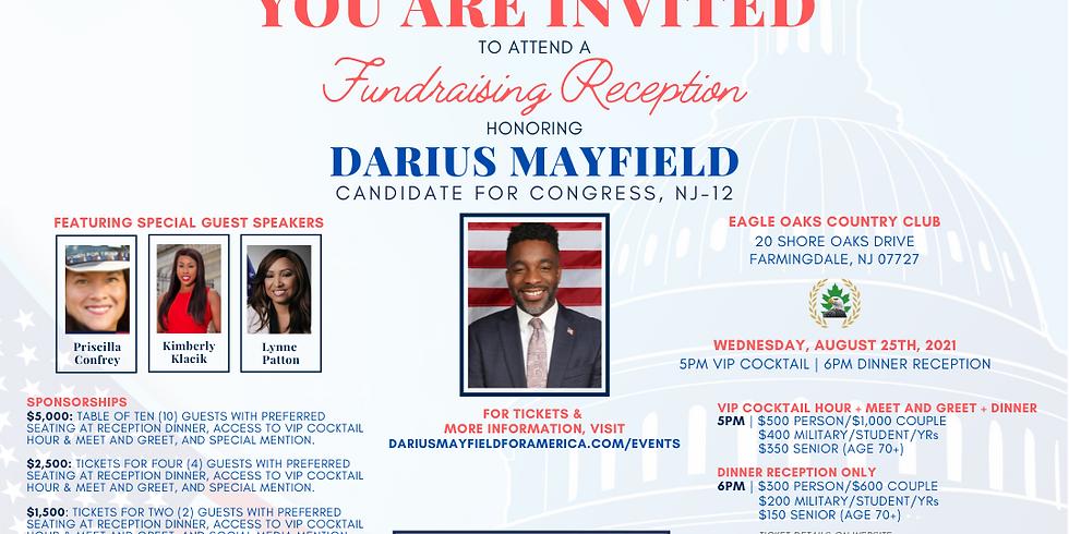 Campaign Kickoff Fundraising Reception honoring Darius Mayfield