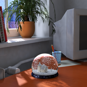 Lighting and Rendering a scene