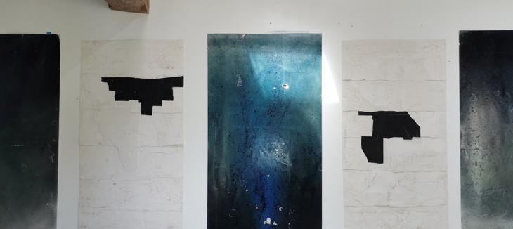 Zones blanches 113 x 220 cm
