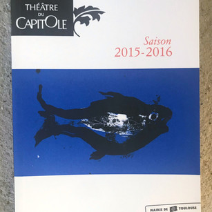 Catalogue du programme du Théatre du Capitole, Toulouse