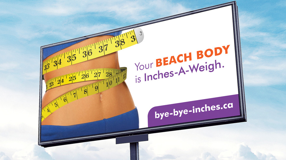 Beach Body Billboard