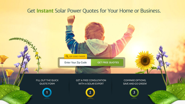 Solar Power Web Design