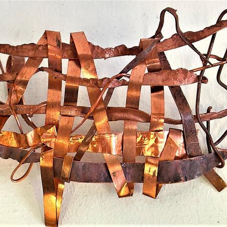 Copper fabric weave