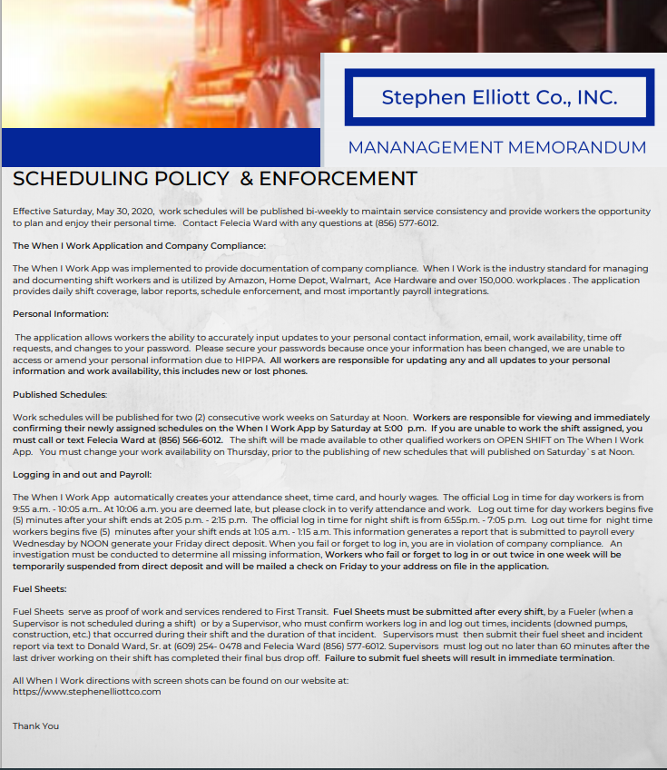 SEC Scheduling Policy & Enforcement Imag