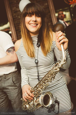 CAT ON SAX: sax player for events