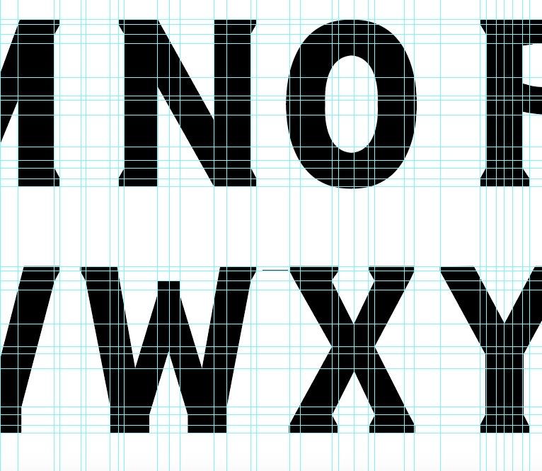 London Row Studio - The Knowledge typography design