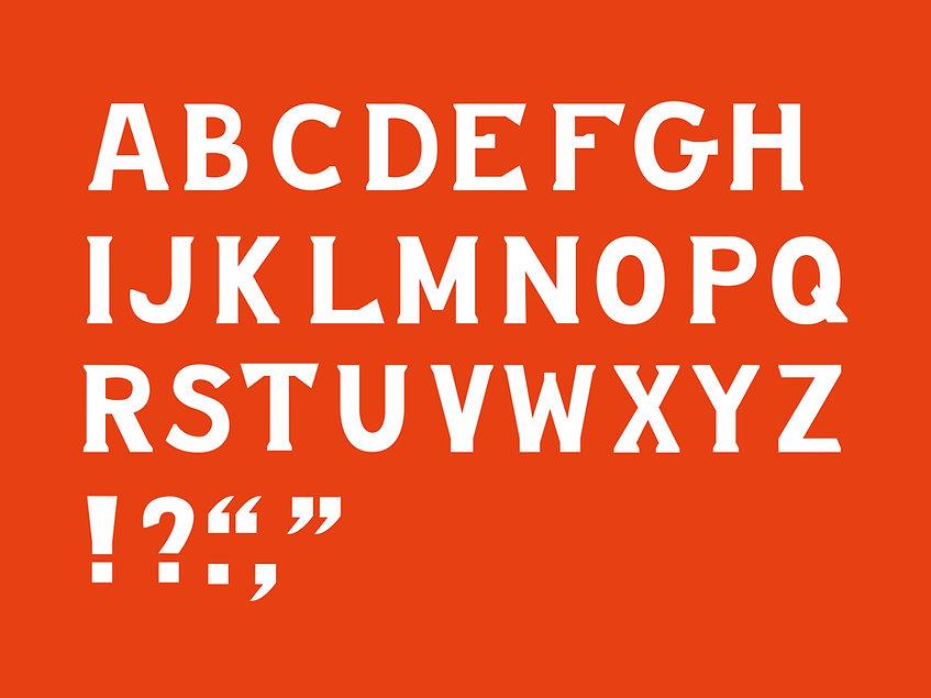 London Row Studio - The Knowledge typogr