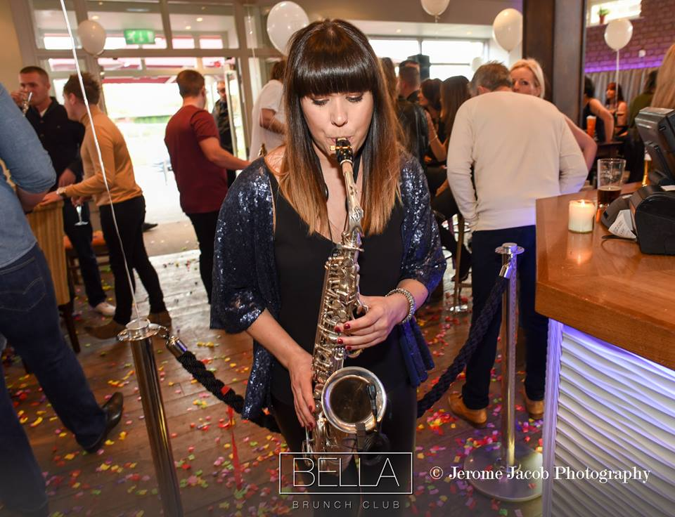 CAT ON SAX: female saxophonist UK