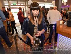 CAT ON SAX: female saxophonist UK