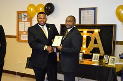 Alpha Service Award Winner