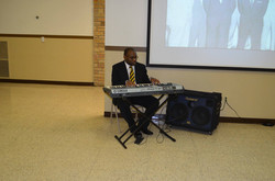 A musical selection by Bro. McLemore