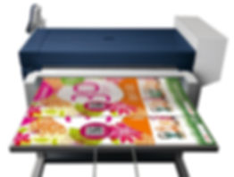 High-speed color graphics printing