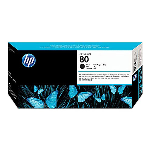 HP 80 Printhead & Cleaner for DJ 1050/1055