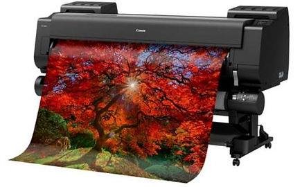High-quality color graphics printing