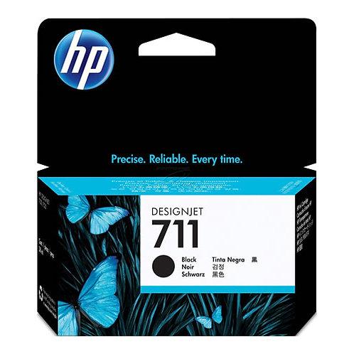 HP 711 80-ml Black Ink Cartridge for T120/T520 Printers