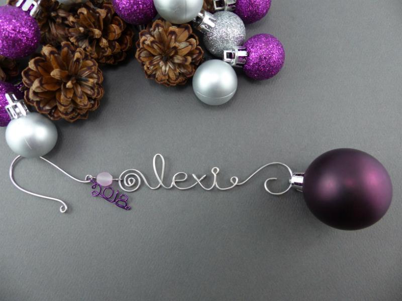 Custom Ornament Hook