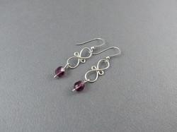 Figure Eight Earrings