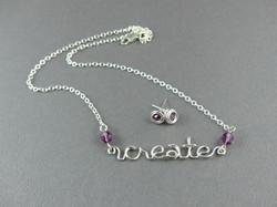 Create Necklace & Earrings