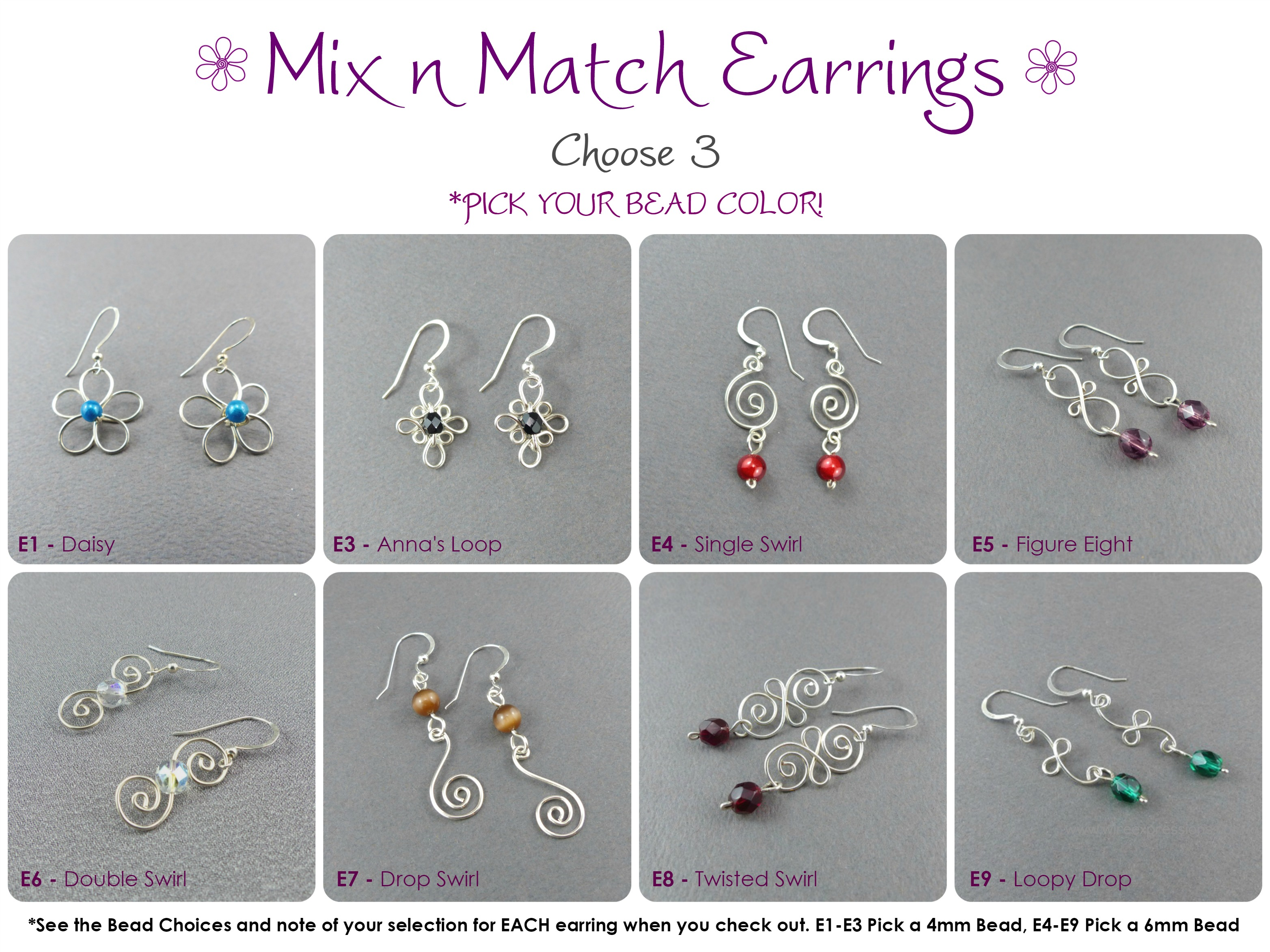 Mix n Match Earrings to Save!
