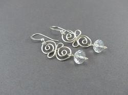 Twisted Swirl Earrings