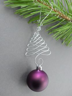 Fancy Christmas Tree Ornament Hook