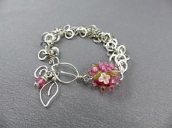 Pink Garden Bracelet
