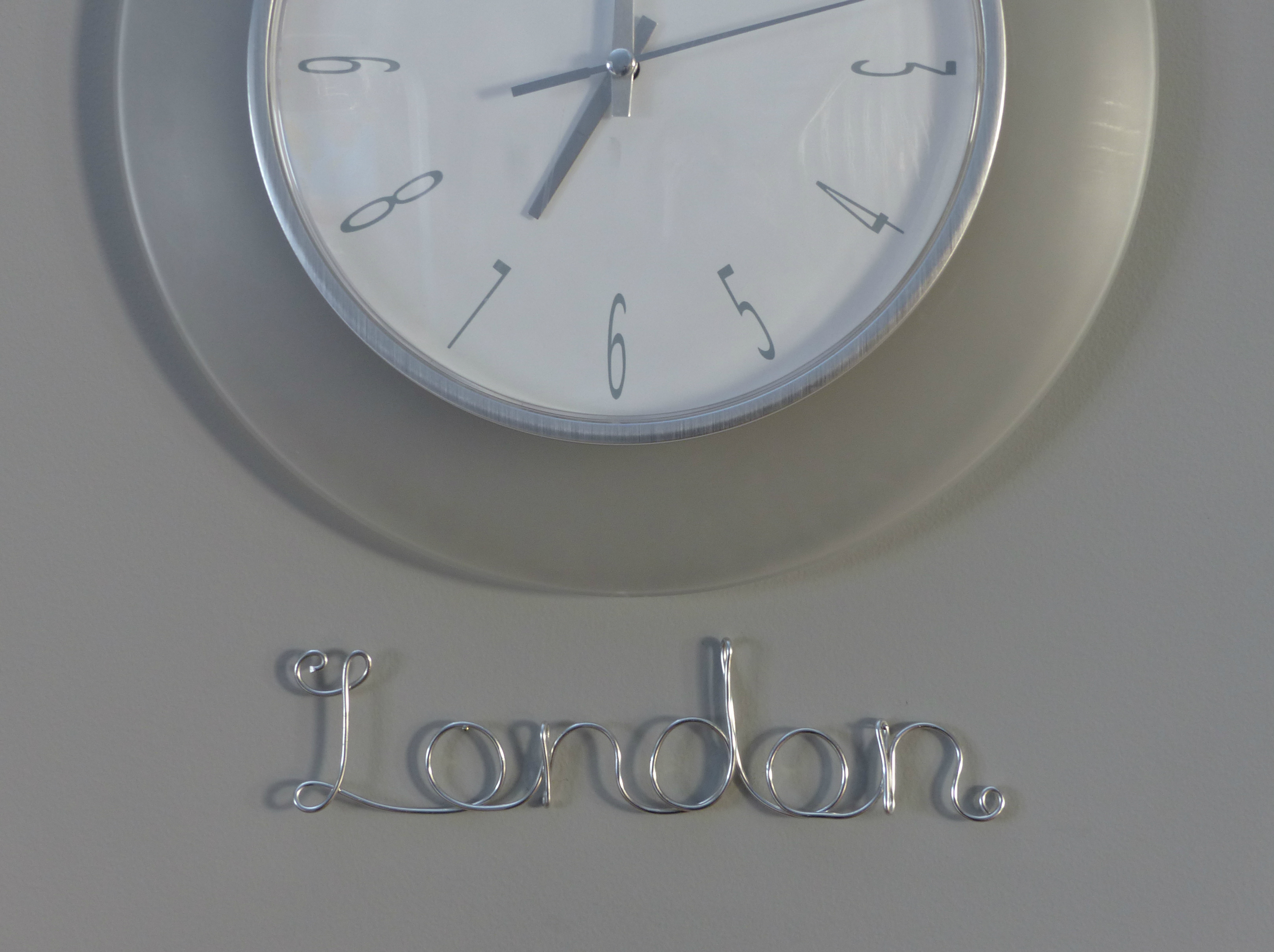 London Time Zone Label