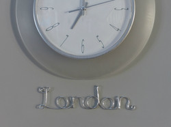 London Time Zone Label