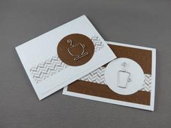 Friendship Card with Tea Cup or Mug