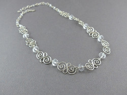 Twisted Swirl Necklace