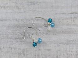 Threader Hoop Earrings