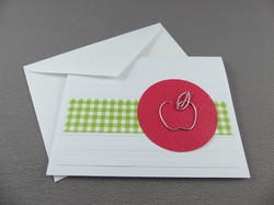 Keepsake Bookmark Card for Teacher