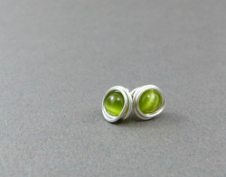 Wrapped Cat Eye Beads