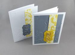 Encouragement Card with Tulip Bookmark