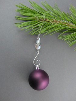 Icicle Beaded Ornament Hook