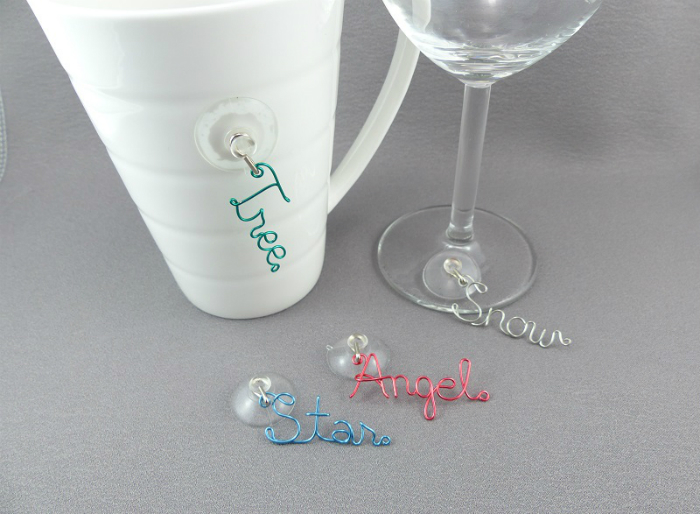 Christmas Drink Charms