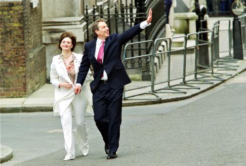 Tony e Cherie Blair