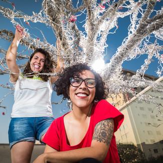 Ana Laura Castro e Camila Conti, empreendedoras