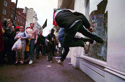 May Day Riots, London ano 2000