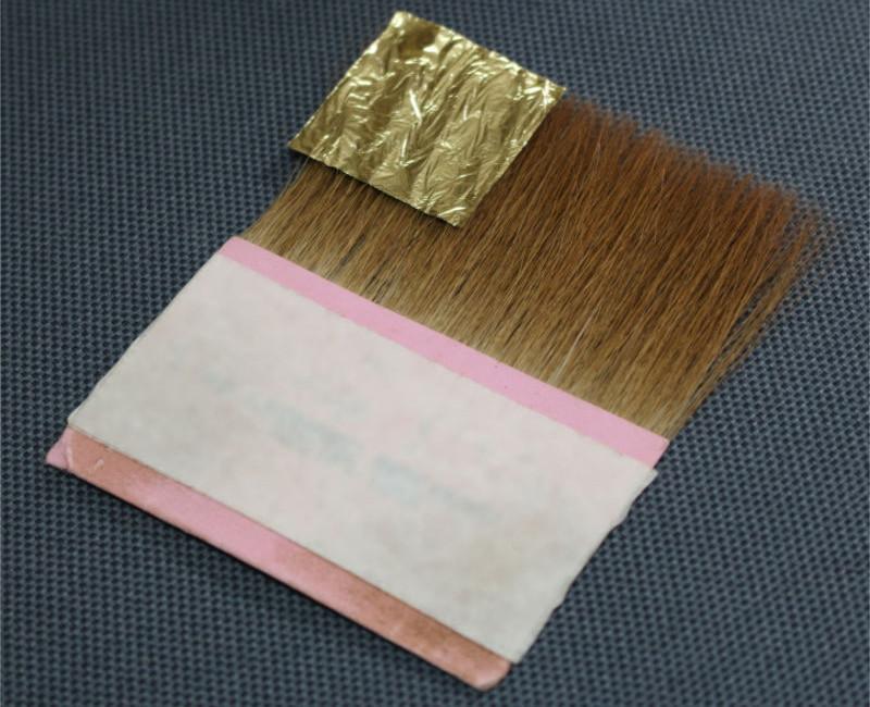 Palette à dorer en poils de martre.