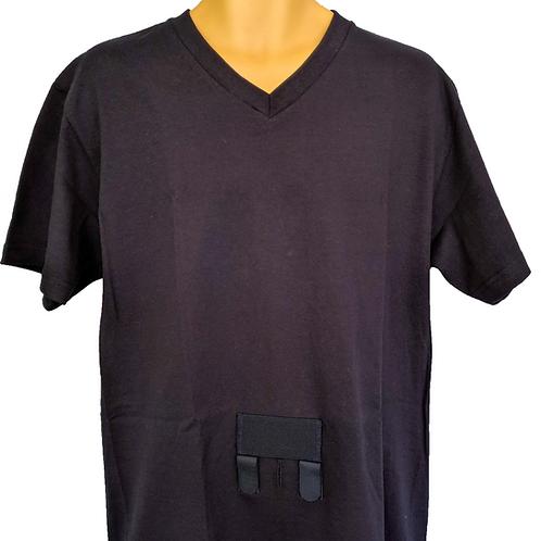 V-Neck w/ Catheter Pocket
