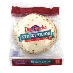 Don Pancho Street Taco Flour Tortilla